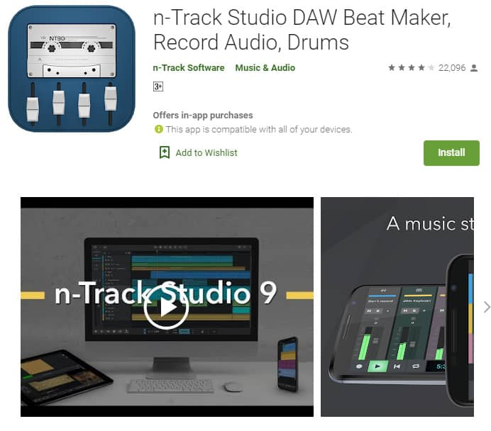 n-Track studio is just that....a studio...in your pocket!!