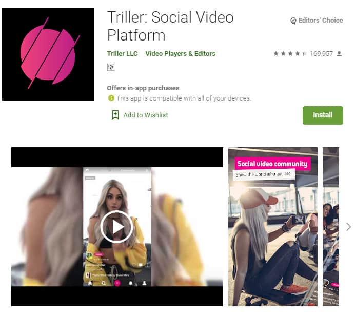 Triller is a great app for new rappers to make cheap videos for their songs.