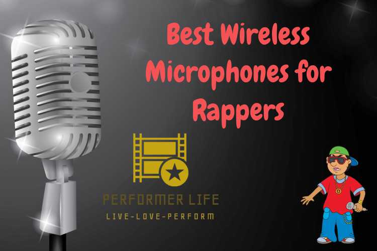 top wireless microphones for upcoming rappers