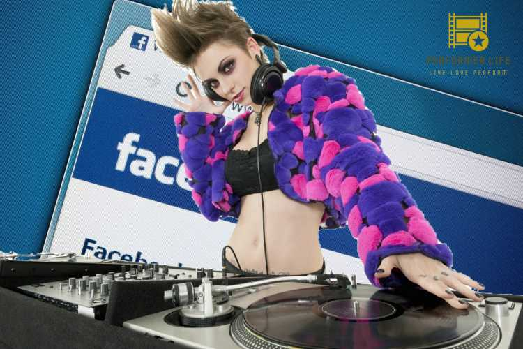 today we think about the idea of djing on facebook live.