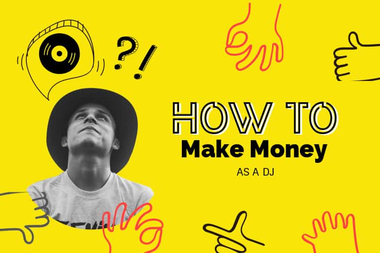 how do djs make money?