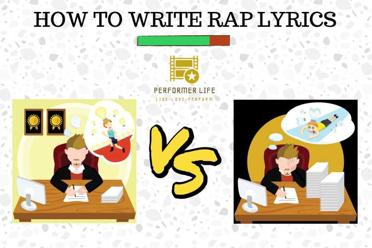 how to write awesome rap lyrics.