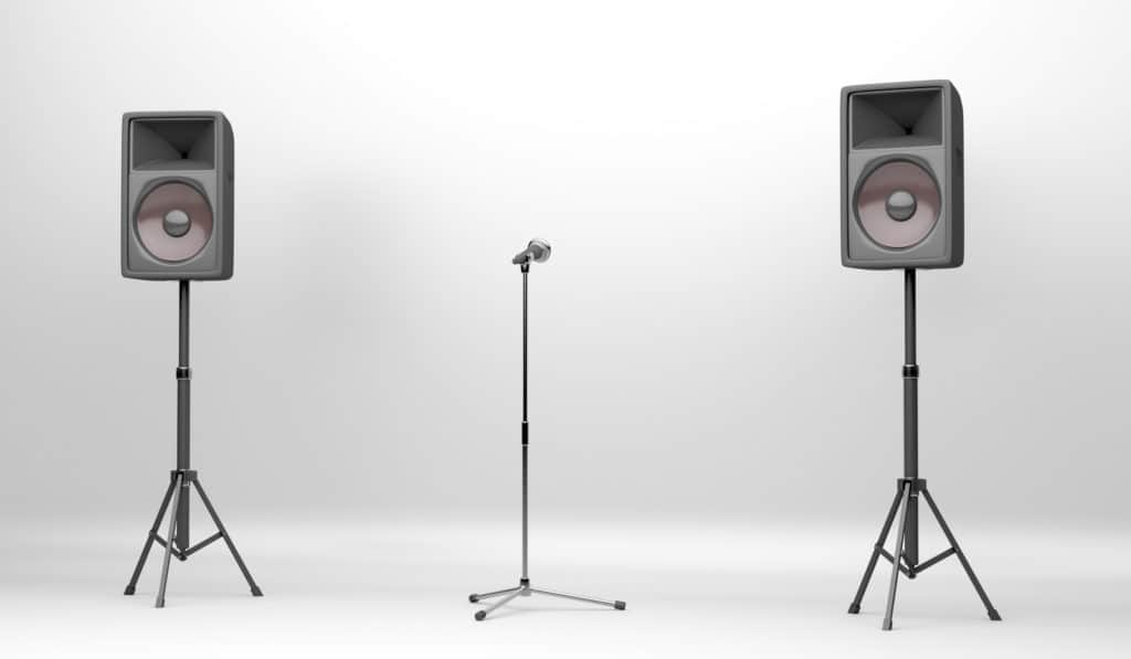 speaker stands are important for djs.