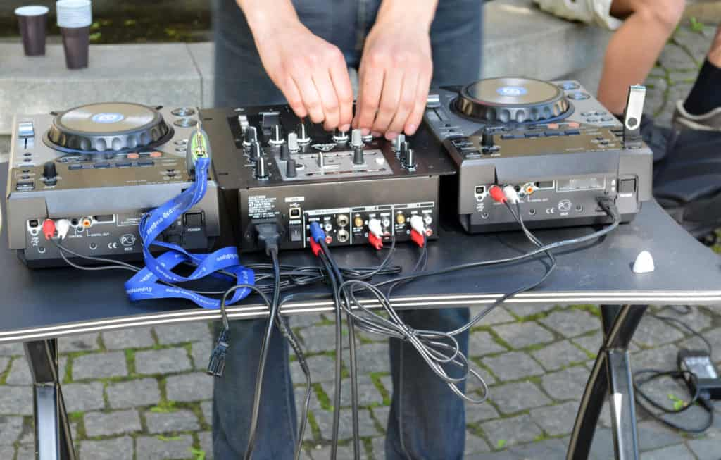 when you are djing outside, you may need a generator.